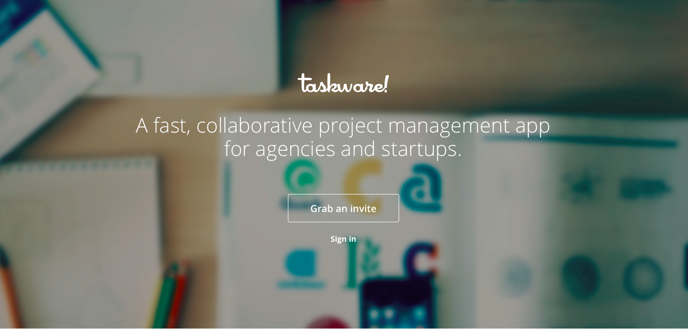 Over the years we've moved from one project management app to the next, never finding a suitable one that met our needs. We also got tired of having 4 different apps to run the company, so we decided to build our own. Taskware is a complete Project Management, time tracking and intranet app aimed at agency teams and startups. http://taskware.do