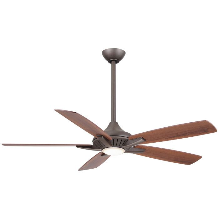 Minka aire 52 dyno 5 blade ceiling fan with remote reviews wayfair