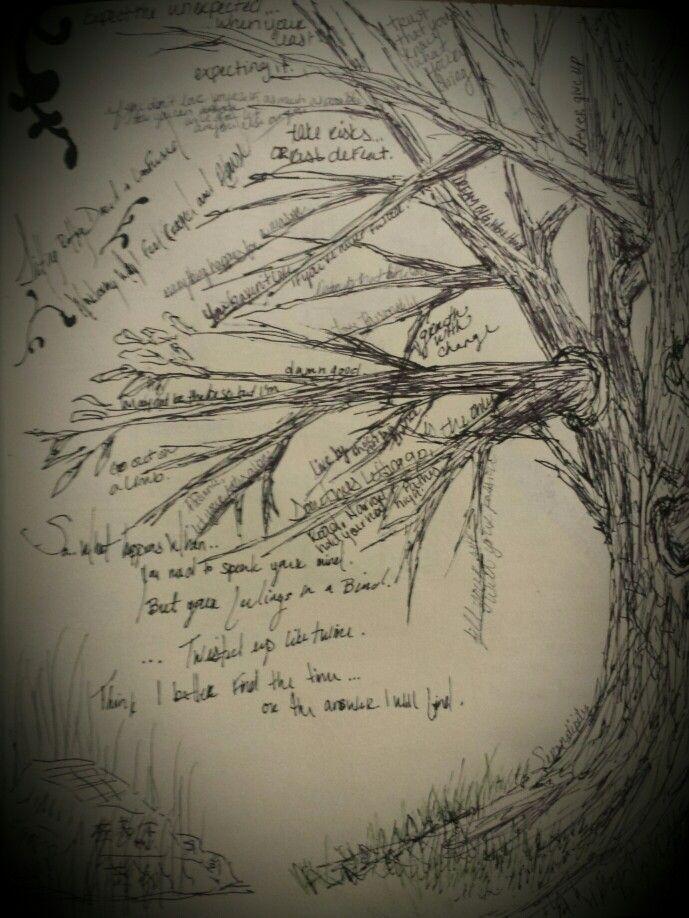 Take risks or risk defeat. Sketchbook pages. #art   crimsonarts.wix.com/moriahlehman