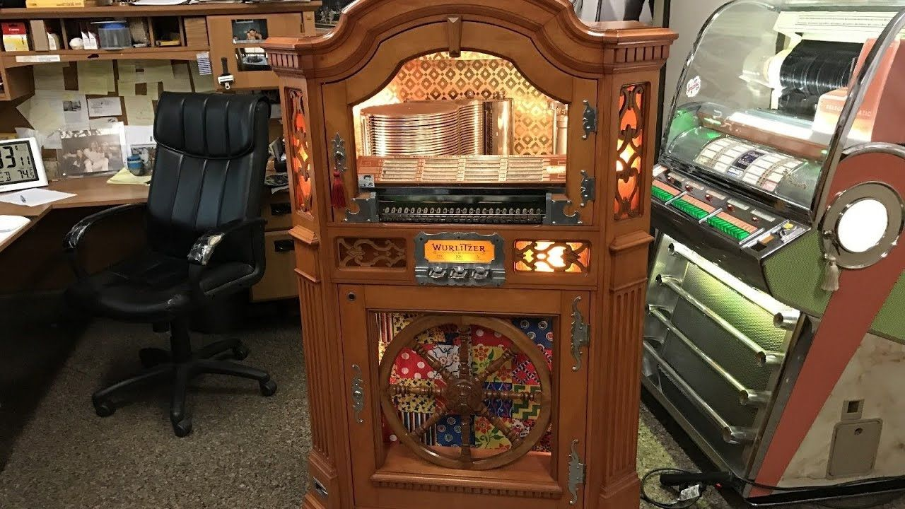 1941 Wurlitzer Jukebox Colonial 780 Restored FOR SALE $8,995