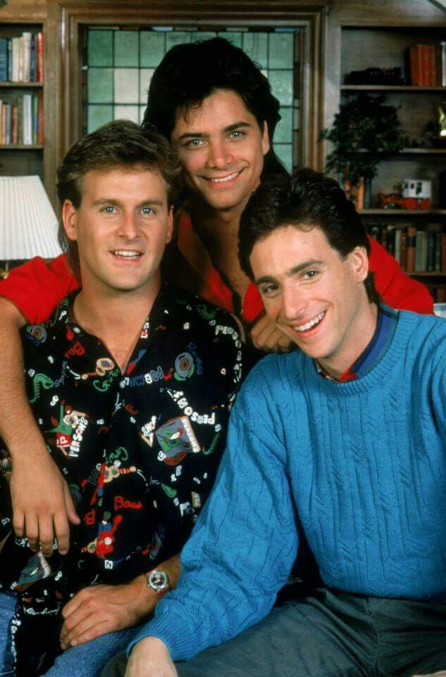 Full House Men Full House Full House Tv Show Fuller House Cast