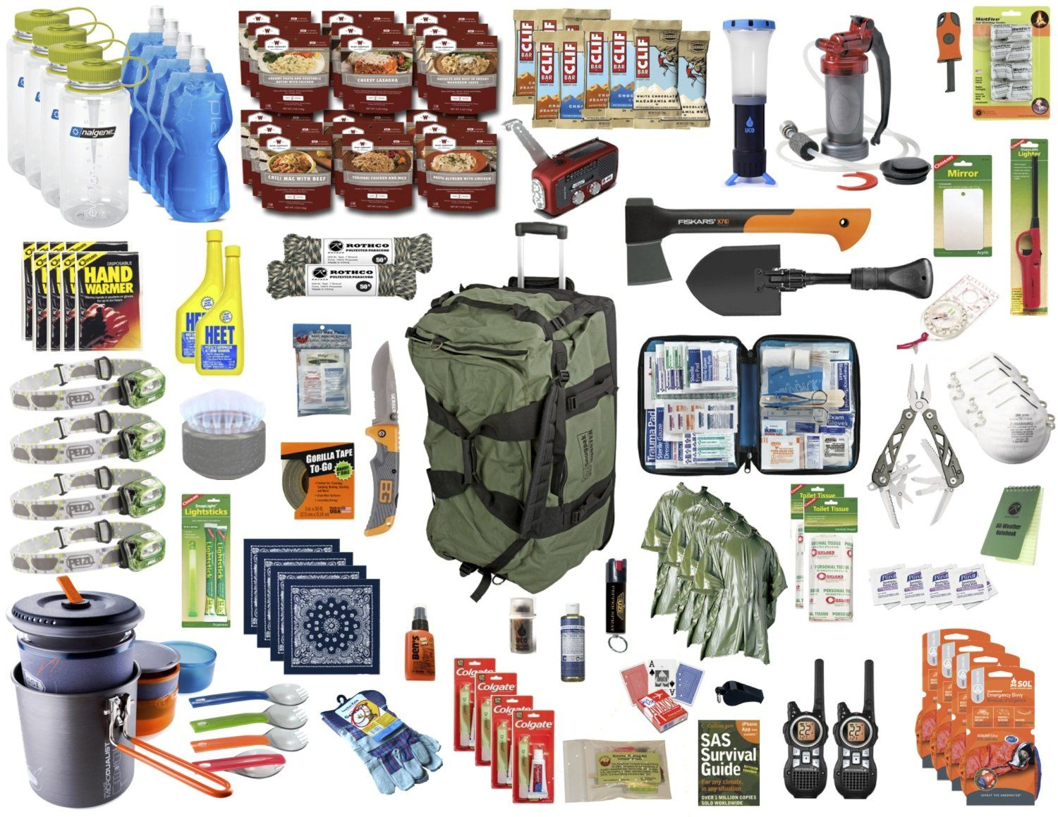 types of survival kits