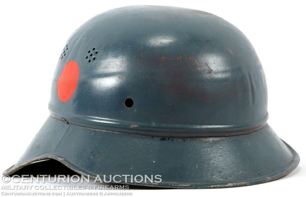 WWII GERMAN LUFTSCHUTZ HELMET | Headgear | Military
