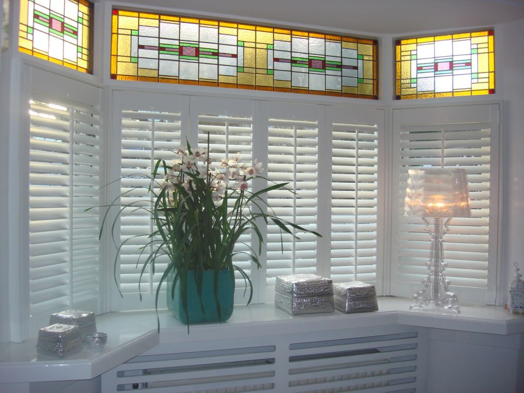 Living Room Shutters Gallery - Shutters | Pinterest - Raambekleding ...