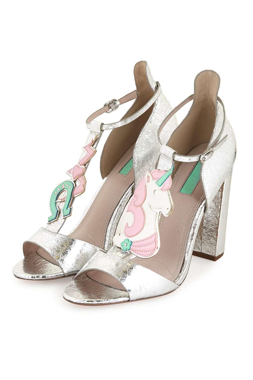 Black jelly sandals topshop - Realm Unicorn Sandals