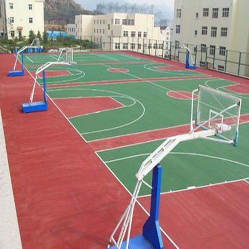 Outdoor Basketball Court Rubber Floor Tile 10 23