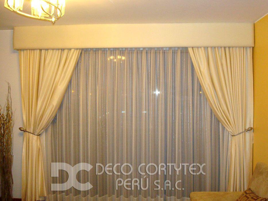 Resultado de imagen para cenefas para cortinas CORTINAS