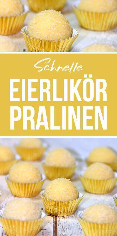 Eierlikör Pralinen - dieHexenküche.de | Thermomix Rezepte