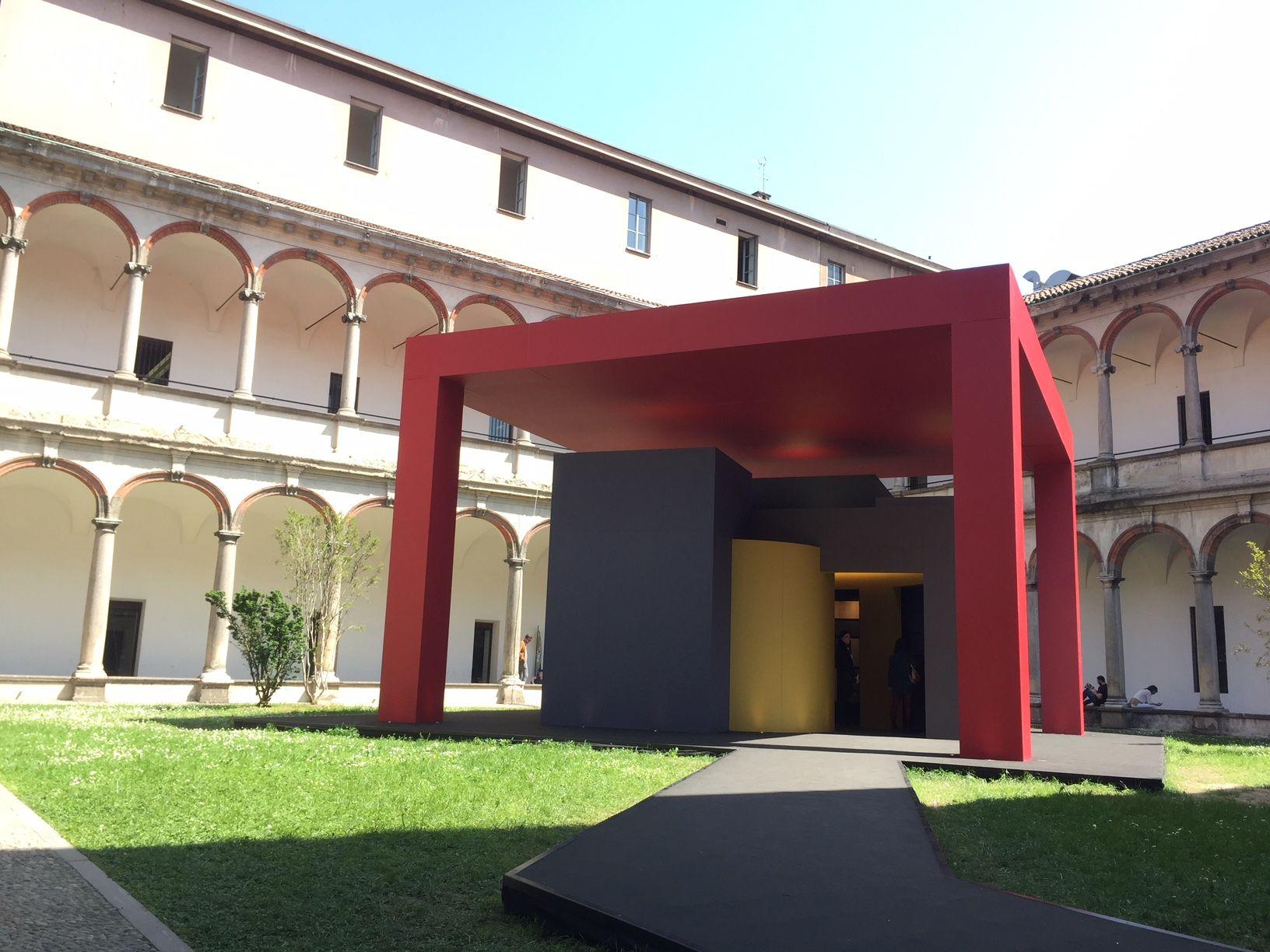 Instalación en la Facultad de Bellas Artes de la Universidad Statale ...