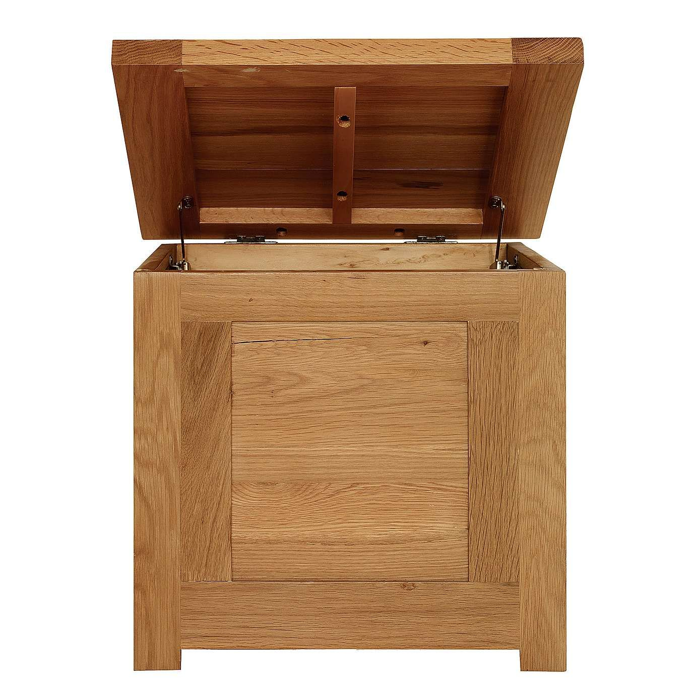 Richmond Oak Small Storage Trunk | Dunelm