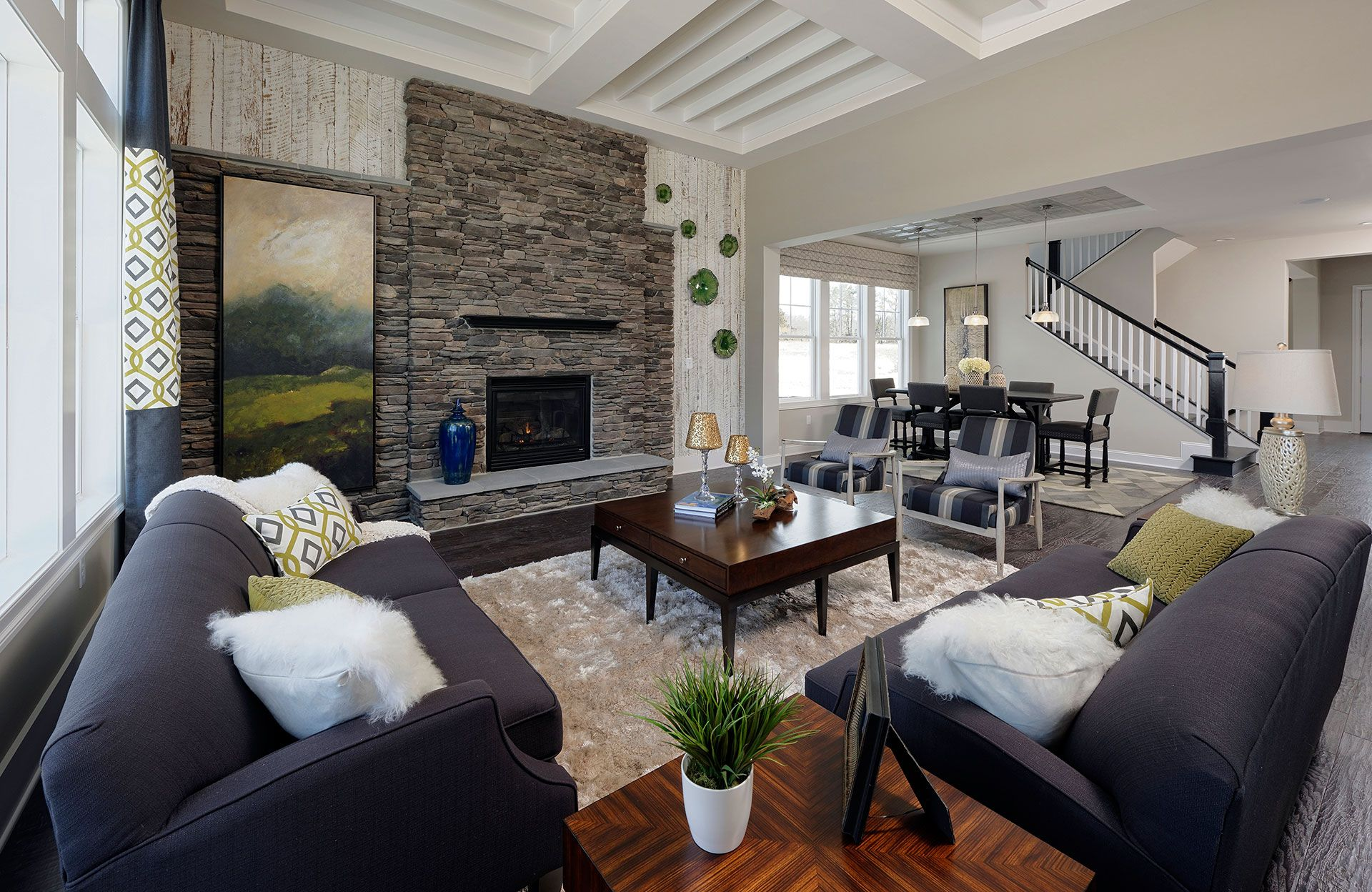 The Monticello Family Room Drees Homes Washington D C