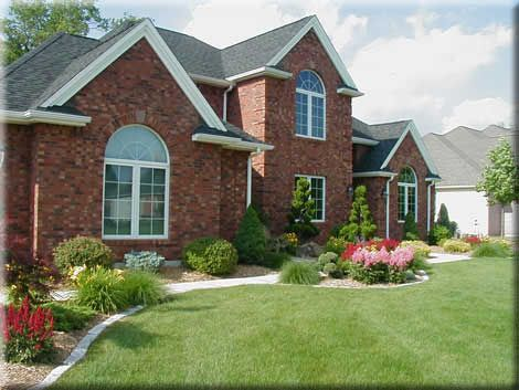 Landscaping Ideas...weu0027re A Blank Slate. Front Of HousesFront Yard ...