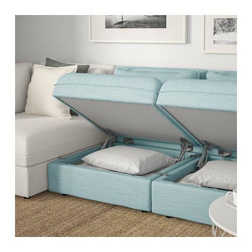 Best Vallentuna Sectional 3 Seat With Storage Hillared 400 x 300