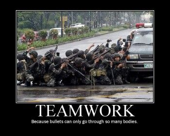 Teamwork Motivational Poster Aaa Cod Memes Army Humor Funny Games