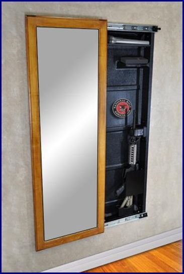 Hidden in Plain Sight: Custom Gun Storage Furniture | Guns, Hidden ...