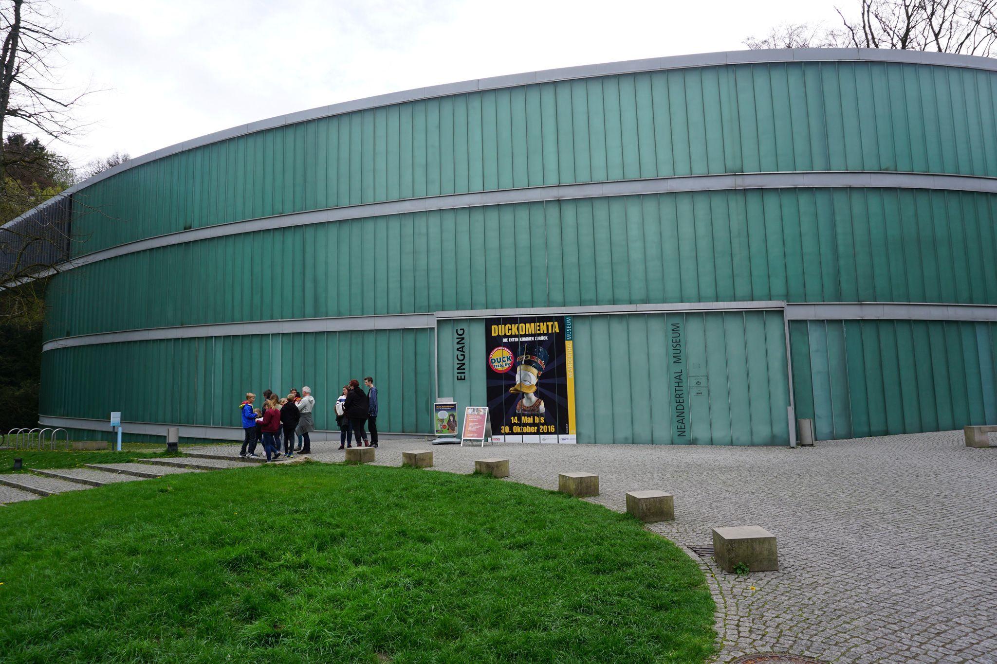 Neanderthal Museum in Mettmann http://www.ausflugsziele-nrw.net/neanderthal-museum/ #Neanderthalmuseum #Mettmann #Düsseldorf #Neanderthal