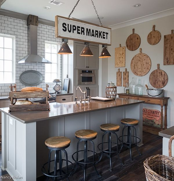 Charming Rustic Kitchen Ideas And Inspirations: Randolph Cottage: Charming Home Tour