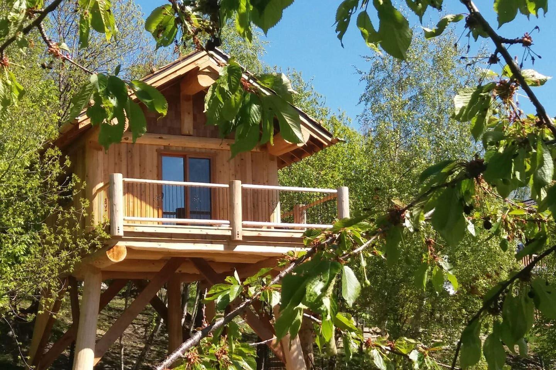 La Quiete - Casa sull\' albero ai castagni - Case sugli ...