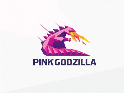 Pink Godzilla Logo Design Inspiration Logo Design Web Design Gallery