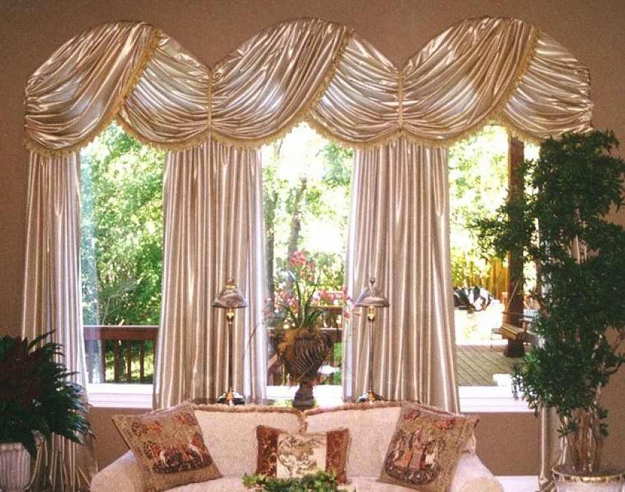 Arch window curtains pictures windows pinterest for Arch top windows