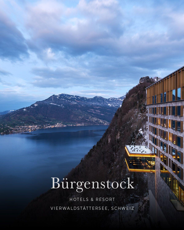 Burgenstock Resort Vierwaldstattersee Lake Lucerne Obburgen