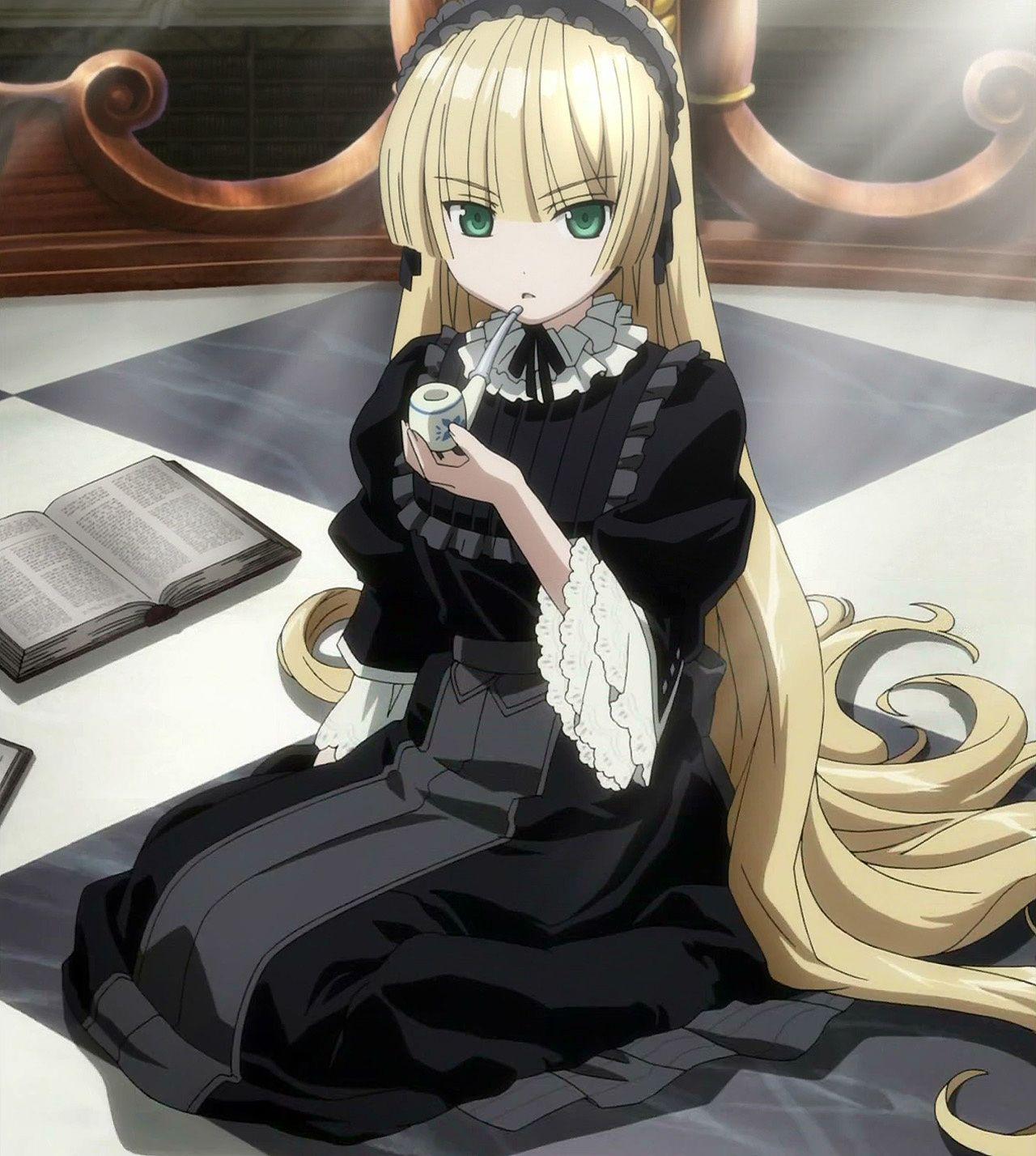 Victorique de Blois, Gosick, best anime characters ɾ⚈ ⚈ɹ