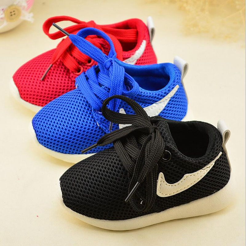 20% 2017 Kid's casual sport shoes Fashion baby Shoes Boys Girls Shoes  Running net Shoes
