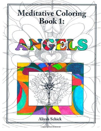 Amazon com angels meditative coloring book 1 adult coloring for relaxation