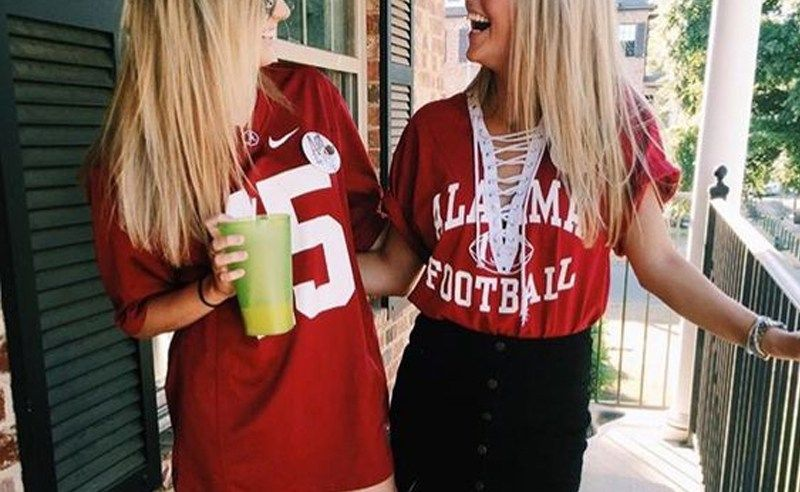 10 Adorable Gameday Outfits At University Of Alabama Gameday