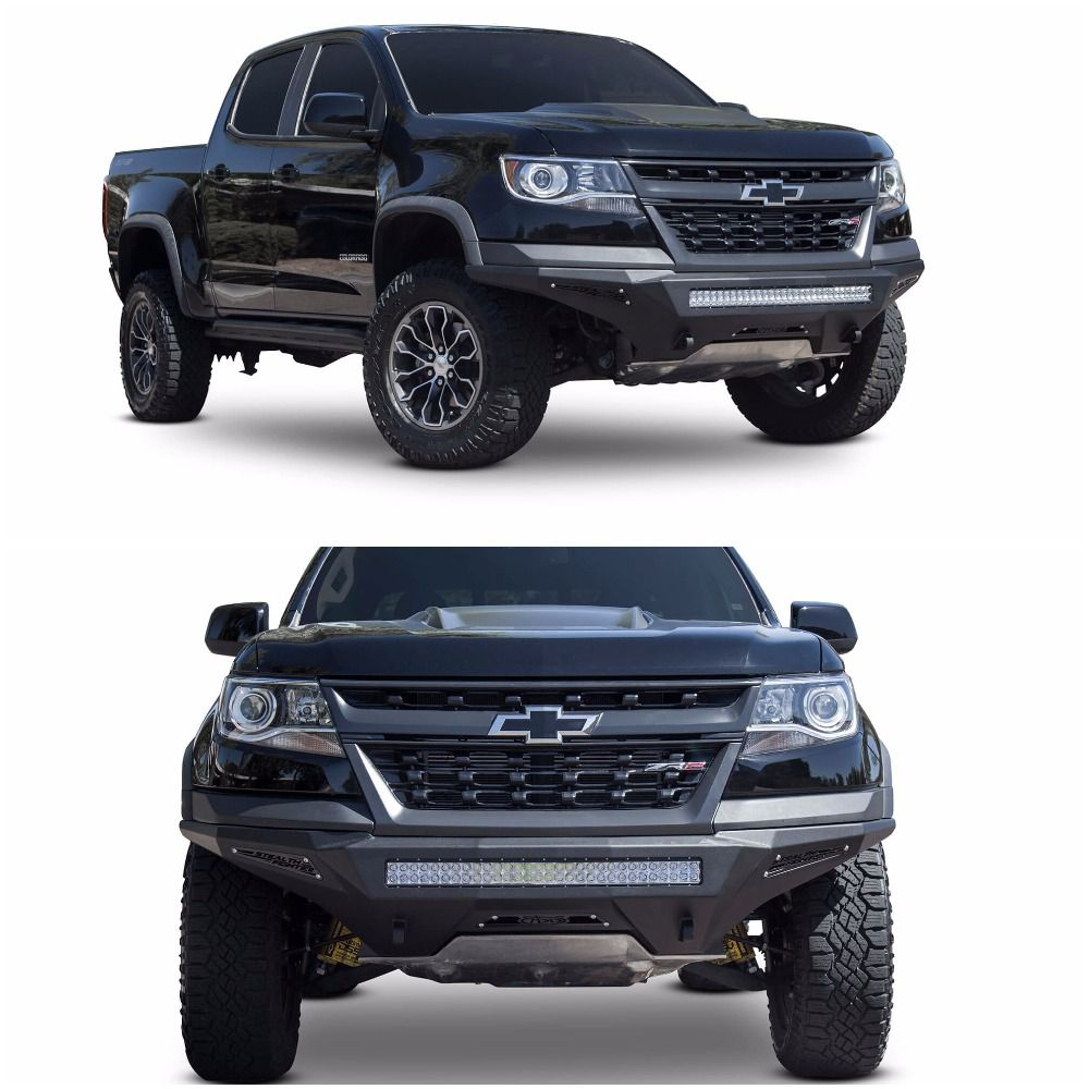 2019 Chevy Colorado ZR2 Stealth Fighter Front