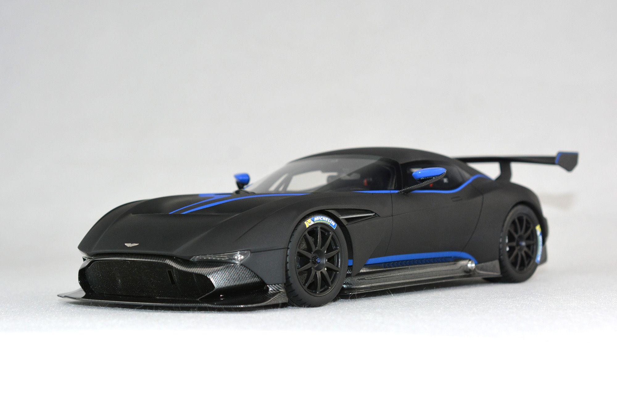 Aston Martin Vulcan In Matt Black And 1 18 For Buying Jefferson Fronti Art Com Super Cars Aston Martin Vulcan Car Model