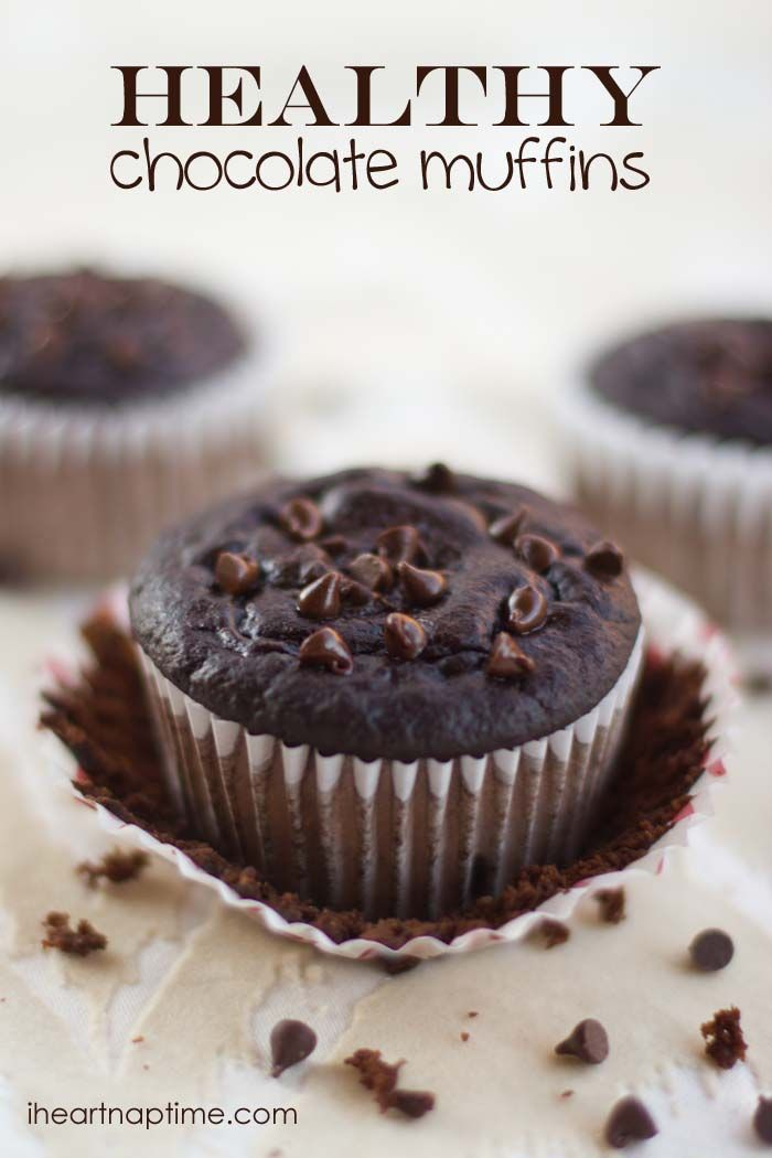 Healthy Chocolate Muffins Recipe Healthy Chocolate Muffins