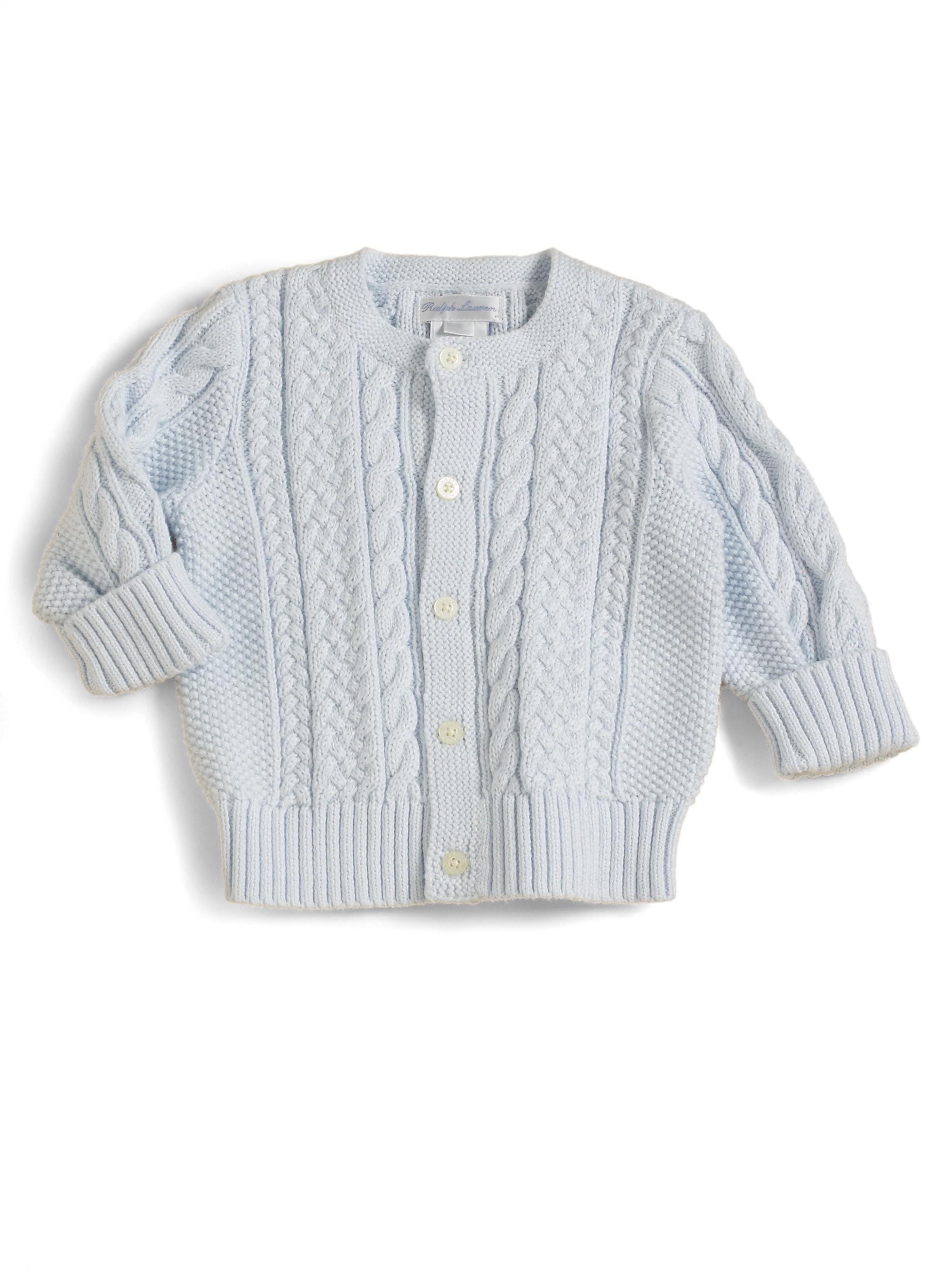 d628a784ed15 Infant s Mercerized Cotton Cardigan by Ralph Lauren in 2018 ...