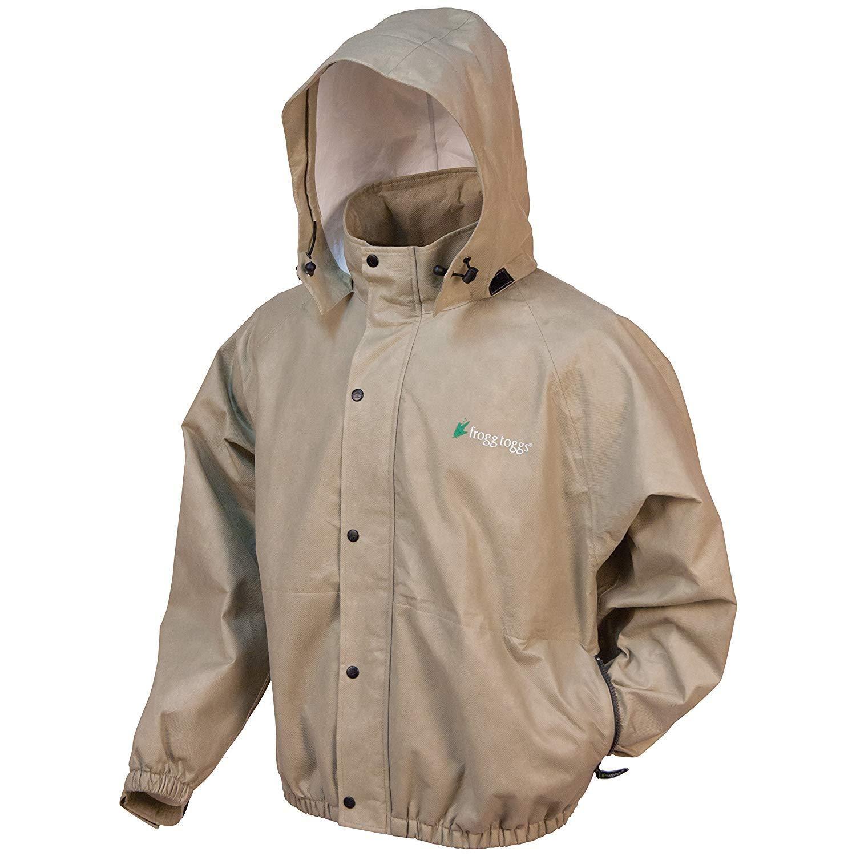 Black, Large Frogg Toggs Womens Sweet T Rain Jacket