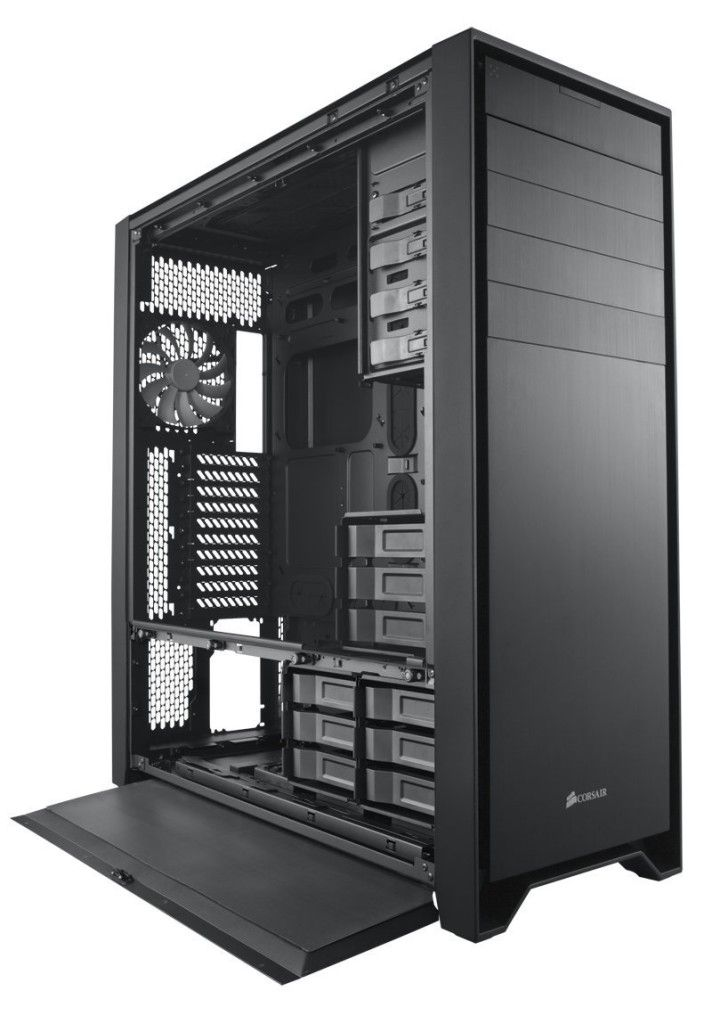 he obsidian series 900d chassis is equipped with how many expansion slots