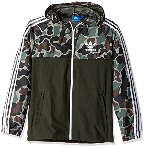 adidas Men's Originals Reversible Windbreaker New Deals