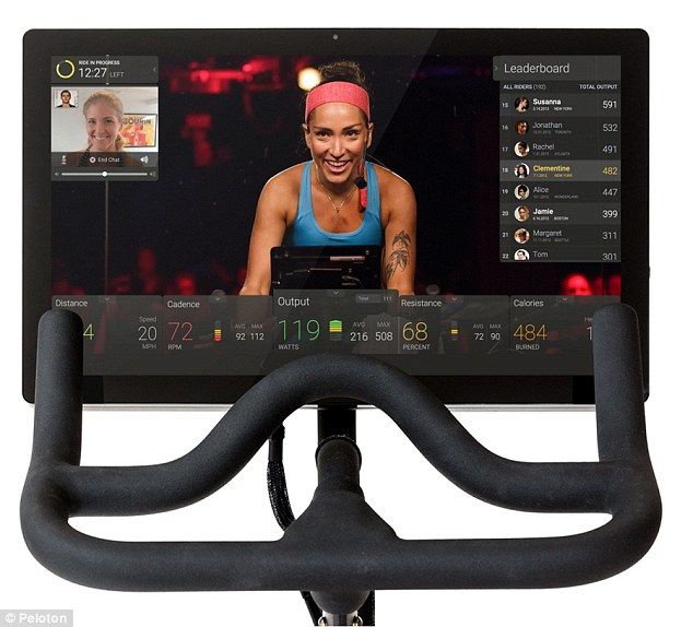 Can You Watch Tv On Peloton The Hi Tech Spin Bike That Really Could Change Your Life Biking Workout Peloton Bike Indoor Bike Workouts