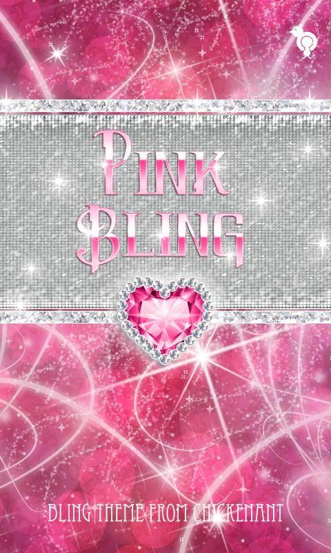 Bling Pink Heart Theme Go Sms Screenshot Bling Pink Heart Theme Go Sms Android Apps On Go Love Pink Wallpaper Pink Diamond Wallpaper Pink Nation Wallpaper