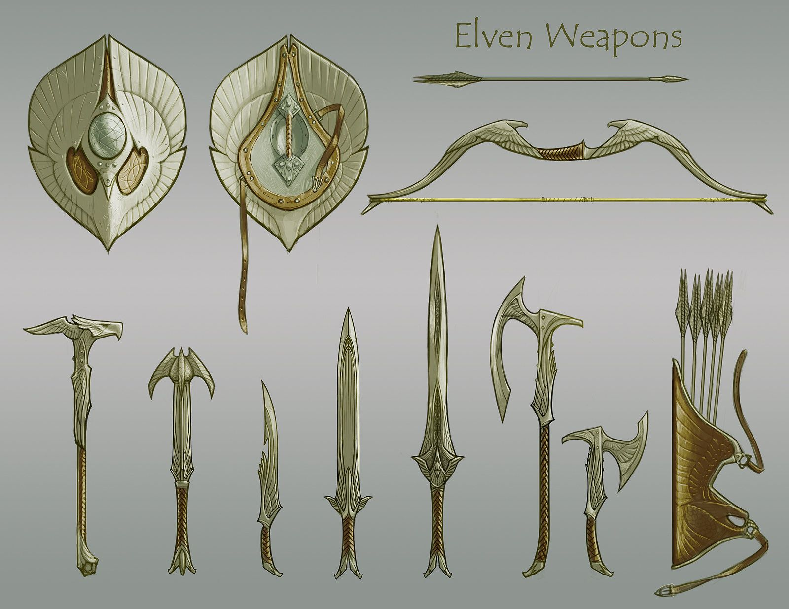 Pin by Kevin Morrell on Elf | Weapons, Fantasy weapons