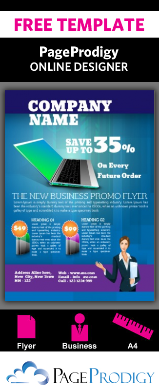 Try The Pageprodigy Online Designer With One Of These Business Flyer Free Templates Today