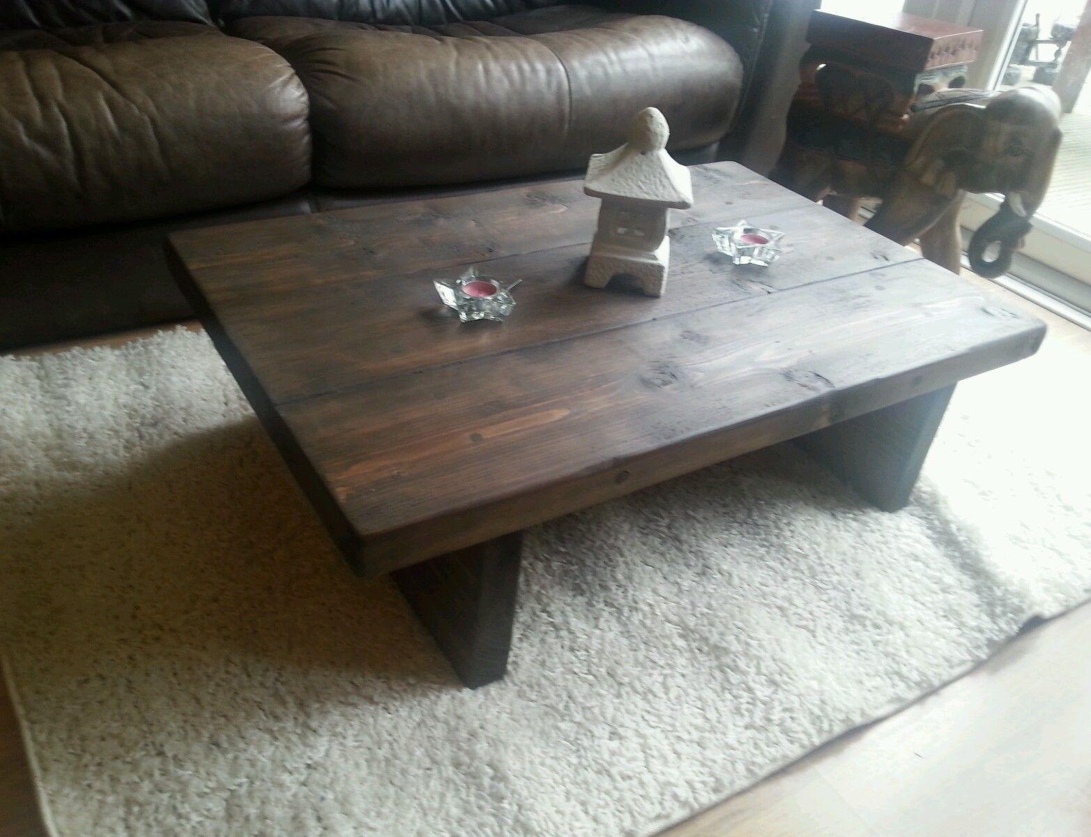 Chunky Rustic Reclaimed Style Coffee Table Handmade Solid Wood Dark Oak Stain Https T Co Atpjivi9tm Https Oak Stain Coffee Table Reclaimed Wood Sideboard [ 1200 x 1565 Pixel ]