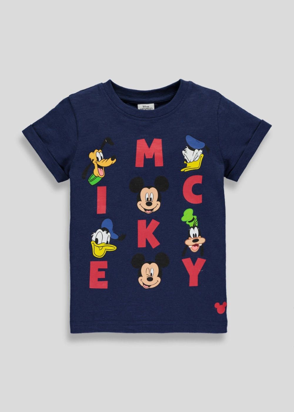 c170a4f339c2 Kids Disney Mickey Mouse T-Shirt (3mths-5yrs) – Blue