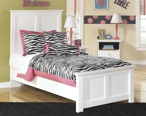 Ashley Furniture - Bostwick Shoals Twin Panel Bed Kids Pinterest