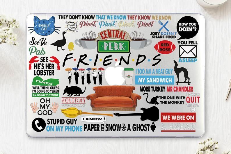 Friends TV Show Macbook Pro 16 Case Macbook 13 Air