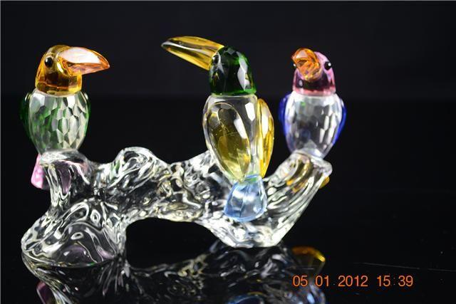 Toekans van kristal design decoratie koopjeskrant be
