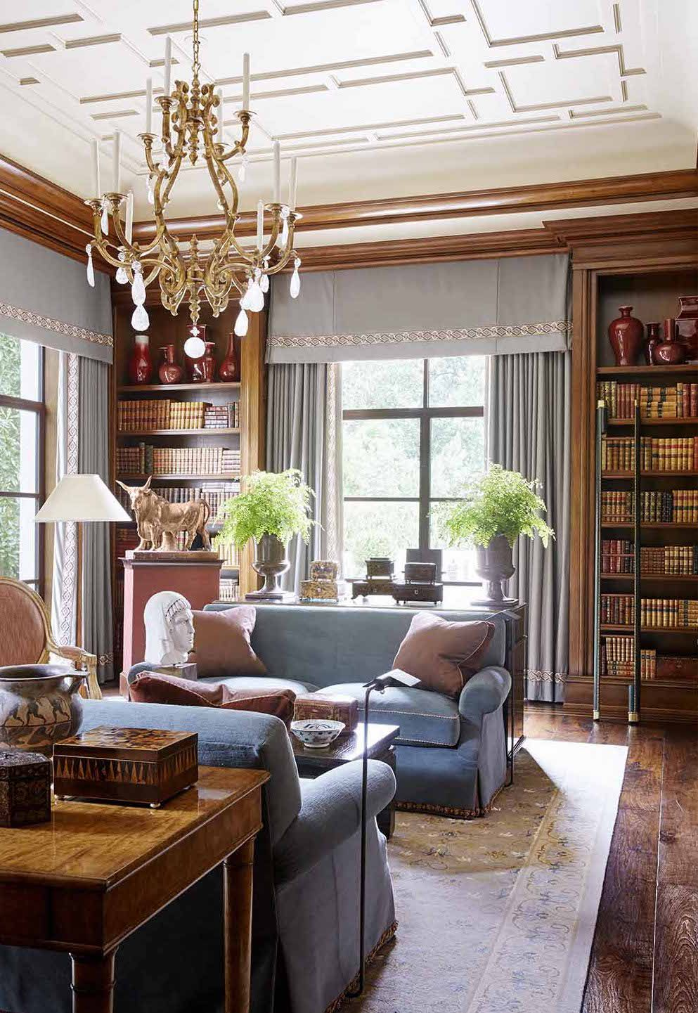 Living Room Library Design Ideas: Gorgeous Libraries To Inspire Your Home Library
