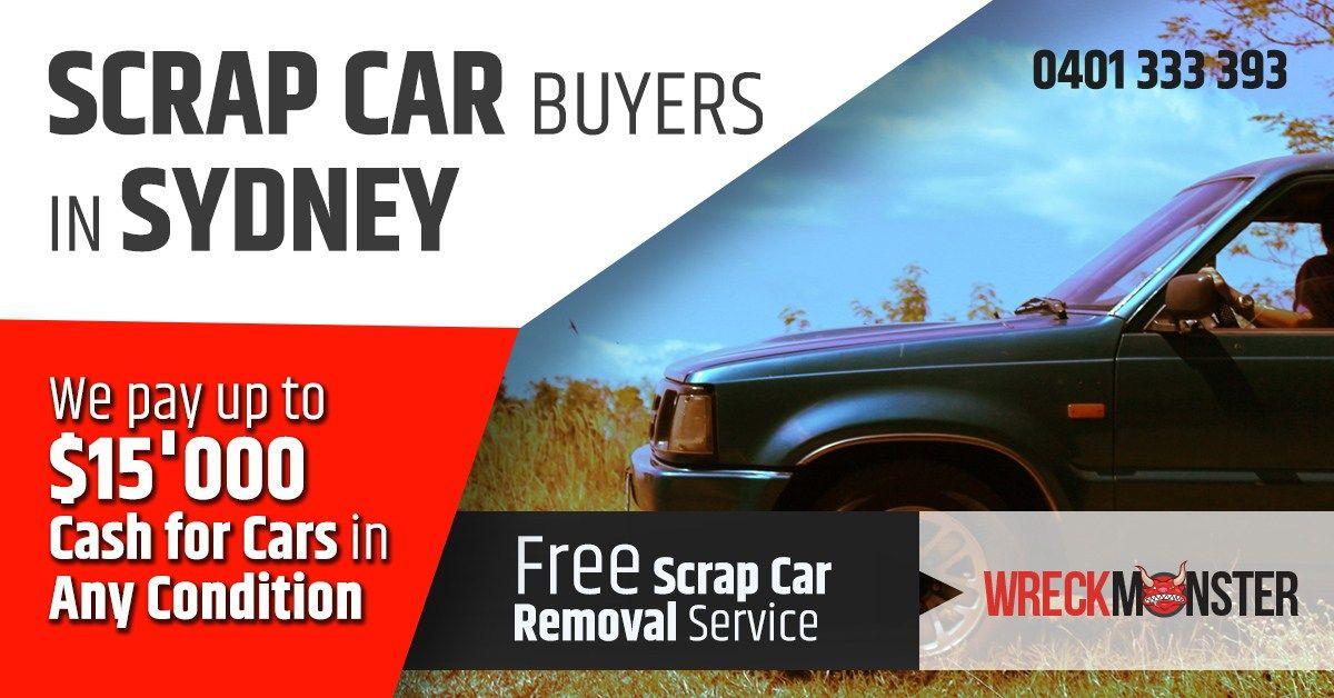 Sydney's Number One Scrap Car Buyers Scrap car, Car