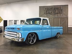 1964 Chevrolet C 10 Custom Item Condition Used This Is One Angry C10 Ed By A Built 6 0 Ls Engine Tuned Cam Fast Fuel Rails Over 400hp Of Fun