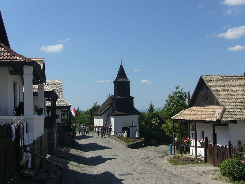 Hollókő Ófalu Fő utca (részlet) - Village  Hungarian