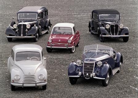 Horch, DKW, NSU, Wanderer und Audi – alle Marken fusionierten einst unter dem Dach der Auto-Union
